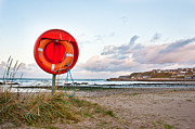 Buoyancy Framed Prints - Lifebuoy Framed Print by Tom Gowanlock