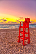 Brian Mollenkopf - Lifeguard Chair at the...