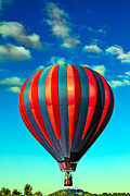 Balloon Aircraft Framed Prints - Lift Off Framed Print by Robert Bales
