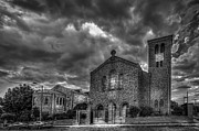 Showers Prints - Light Above the Church Print by Marvin Spates