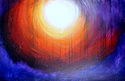 Chakra Rainbow Painting Originals - Light by Amanda Taylor-Carpenter