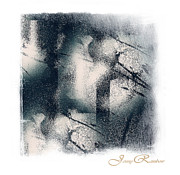 Original Watercolor Photos - Light and Shadow. Abstract. Mini-Square Idea for Interior by Jenny Rainbow