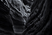 Slot Canyon Prints - Light and Texture Print by Mike  Dawson