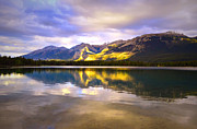Evening Light Photos - Light at Lake Edith by Tara Turner