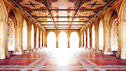 Bethesda Terrace Prints - Light at the End Print by Maico Presente