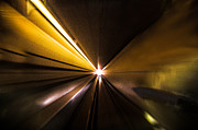 Stopper Framed Prints - Light at the End of the Tunnel-Skytrain 2013 Framed Print by Evan Spellman