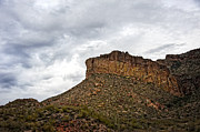 Cliff Lee Metal Prints - Light Before Storm on Apache Trail Metal Print by Lee Craig