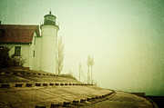 Light In The Fog Print by Joy StClaire