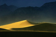 Death Valley Dunes. The Race Track Posters - Light Is Everything Poster by Bob Christopher