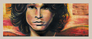 Jim Morrison Prints - Light My Fire Print by Norbert Lisinski