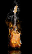 Strings Digital Art Posters - Light My Fire Poster by Peter Chilelli