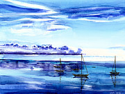Boats Originals - Light N Water by Anil Nene