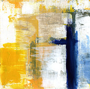Contemporary Abstract Mixed Media Prints - Light Of Day 3 Print by Linda Woods