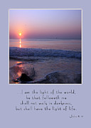 Carolyn Stagger Cokley Acrylic Prints - Light of the World Acrylic Print by Carolyn Stagger Cokley
