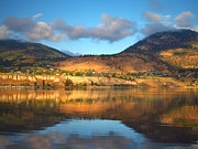 Penticton Prints - Light on the Banks Print by Tara Turner