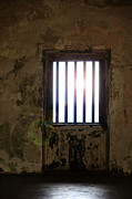 Window Bars Prints - Light Shining In Print by Birgit Tyrrell