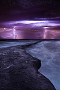 Thunderstorm Art - Light symphony by Jorge Maia