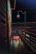 Penn Cove Prints - Light The Coupeville Night Print by Alice Martin