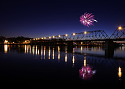 Susquehanna River Photos - Light the Night Walk by Lori Deiter