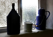 Window Sill Photo Posters - Light through the Window Poster by Carol Groenen
