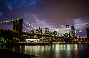 East River Prints - Light Up The Night Print by Johnny Lam