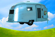 Airstream Prints - Lighter Than Air Print by Edward Fielding
