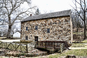 Conestoga Digital Art - Lightfoot Mill at Anselma Chester County by Bill Cannon