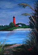 Marsha Thornton - Lighthouse at NewSmyrna...