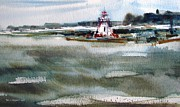 Marc L Gagnon - Lighthouse at Southampton