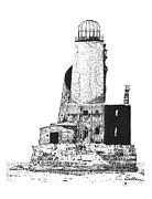 Lighthouse Drawings - Lighthouse by C Sitton