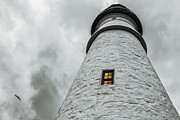 New England Lighthouse Photo Posters - Lighthouse Poster by Diane Diederich