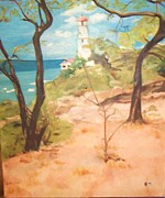 Angela Hoff - Lighthouse in Hawaii