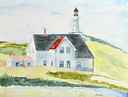 Wade Binford - Lighthouse in Maine
