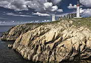 Dominant Colors Prints - Lighthouse Print by Juro Kovacik