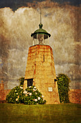 Espana Digital Art Posters - Lighthouse - La Coruna Poster by Mary Machare