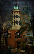 Mario Celzner Framed Prints - Lighthouse Framed Print by Mario Celzner
