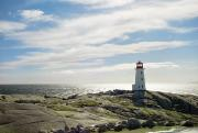 Featured Prints - Lighthouse, Peggys Cove, Nova Scotia Print by Andy Lee