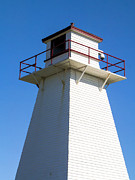 Light House Photos - Lighthouse PEI by Edward Fielding