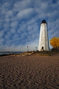 Ripples Prints - Lighthouse Point Park  Print by Susan Candelario