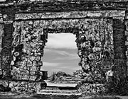Aguadilla Prints - Lighthouse Ruins Print by Stacy Siverio
