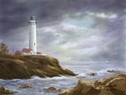 Judy Filarecki - Lighthouse Stormy Sky...
