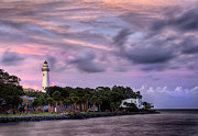 St. Simons Island Art - Lighthouse by Tim Palmer