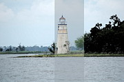 Lagniappe Framed Prints - Lighthouse Framed Print by Victoria Leyva
