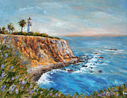 Oil Paintings - Lighthouse View by Jennifer Beaudet
