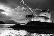 Keith Thorburn - Lightning over Eilean...