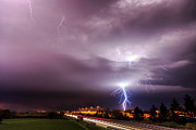 Lightning Strike Originals - Lightning storm by Marko Korosec