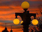Photography Of Lamps Photos - Lights of old Tampa Bay by David Lee Thompson