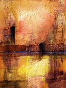 Abstract Impression Paintings - Lightspace by Lutz Baar