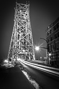 Duluth Art - Lightspeed Through The Lift Bridge by Shutter Happens Photography