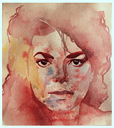 Mj Painting Prints - Like a dream Print by Lillian Melker